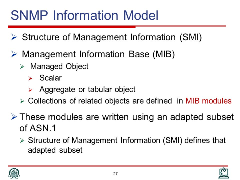 SNMP Information Model