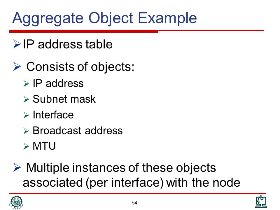 Aggregate Object Example