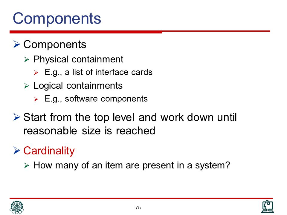 Components Components