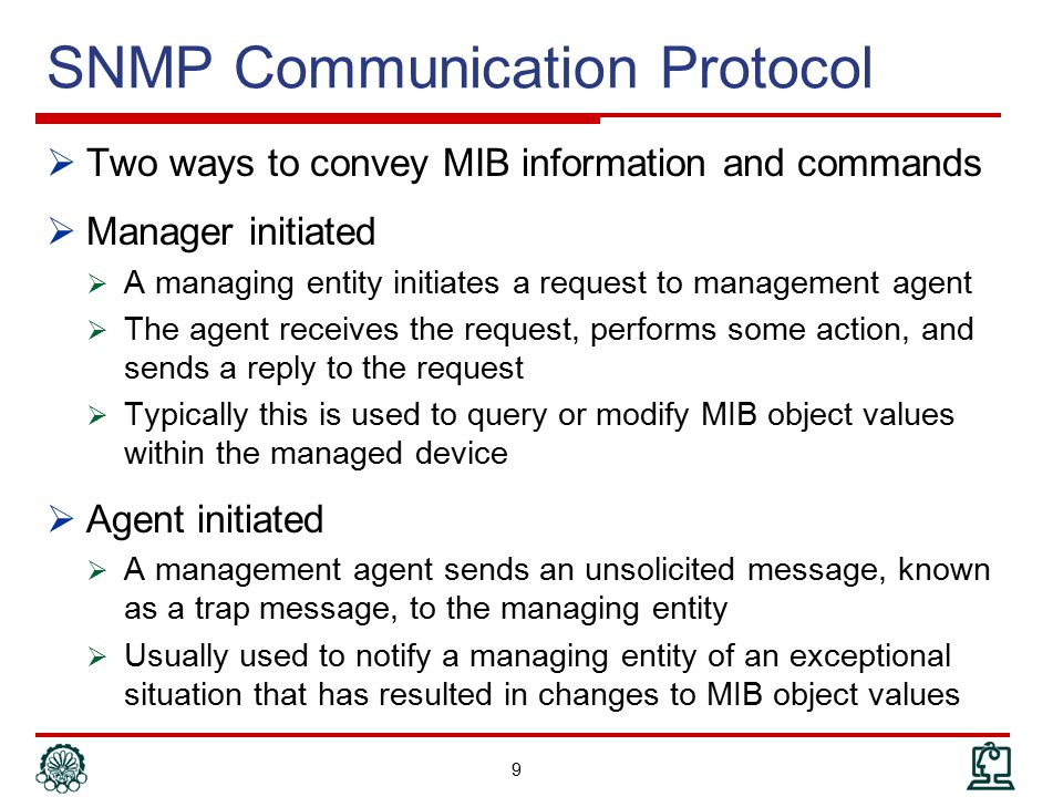 SNMP Communication Protocol