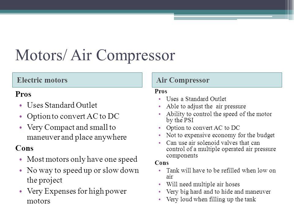 Motors/ Air Compressor