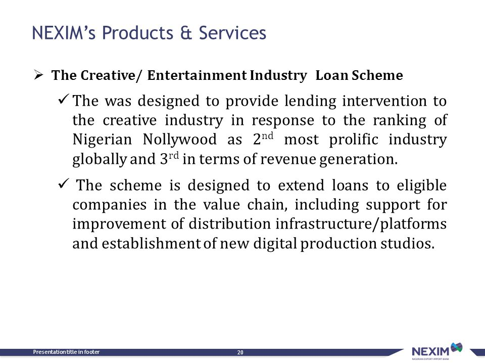 NEXIM's Products & Services