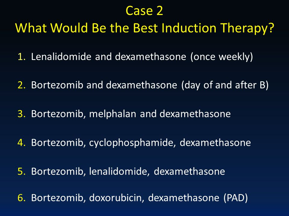 What Would Be the Best Induction Therapy