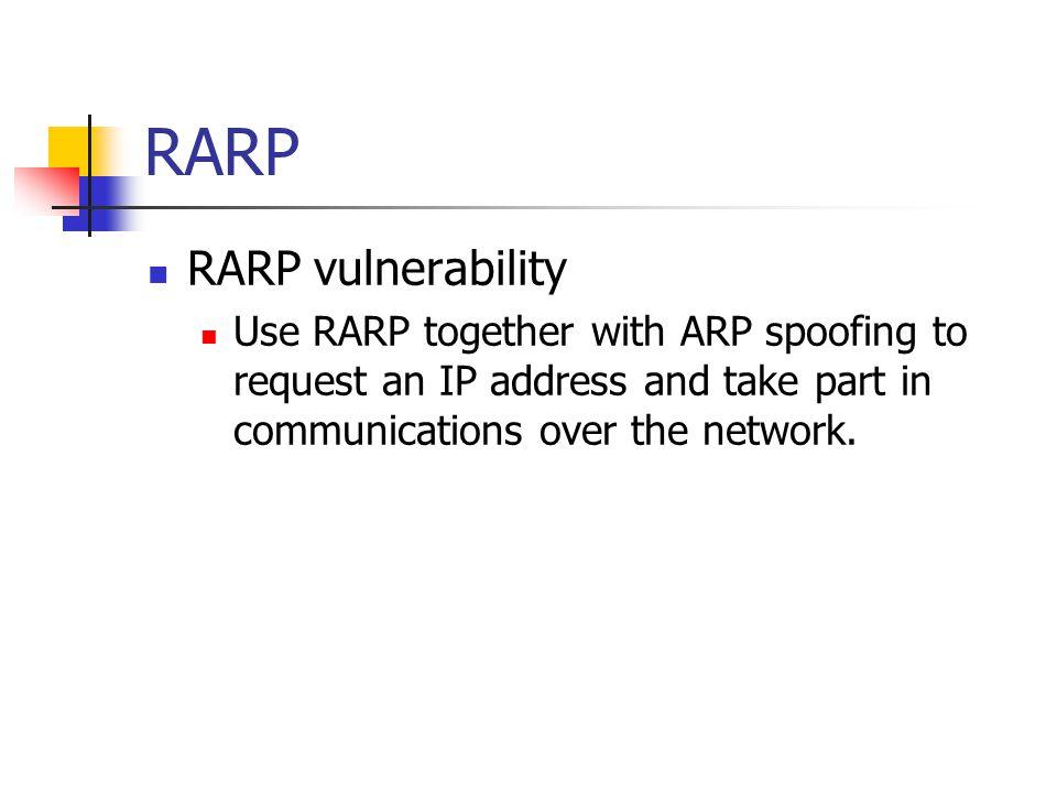 RARP RARP vulnerability
