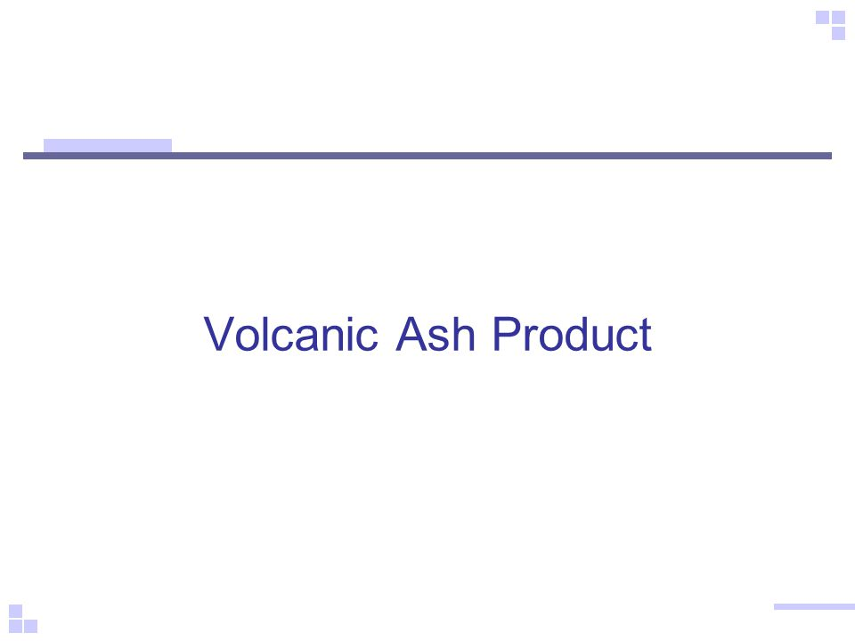 Volcanic Ash Product