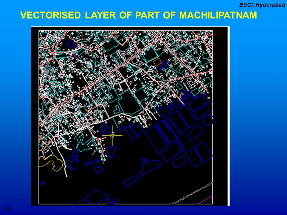 VECTORISED LAYER OF PART OF MACHILIPATNAM