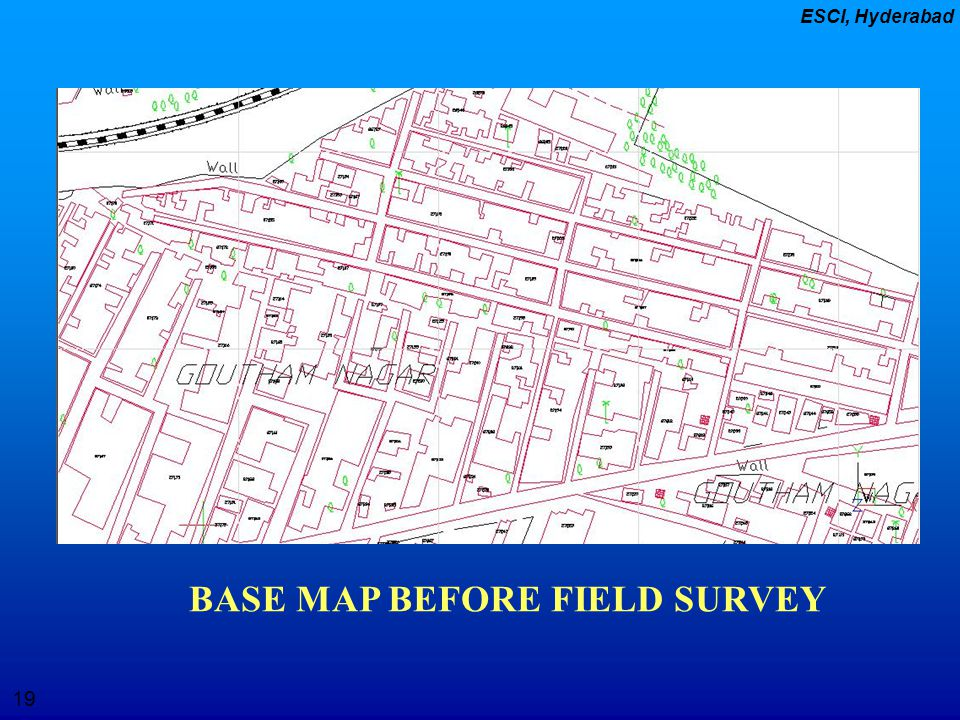 BASE MAP BEFORE FIELD SURVEY