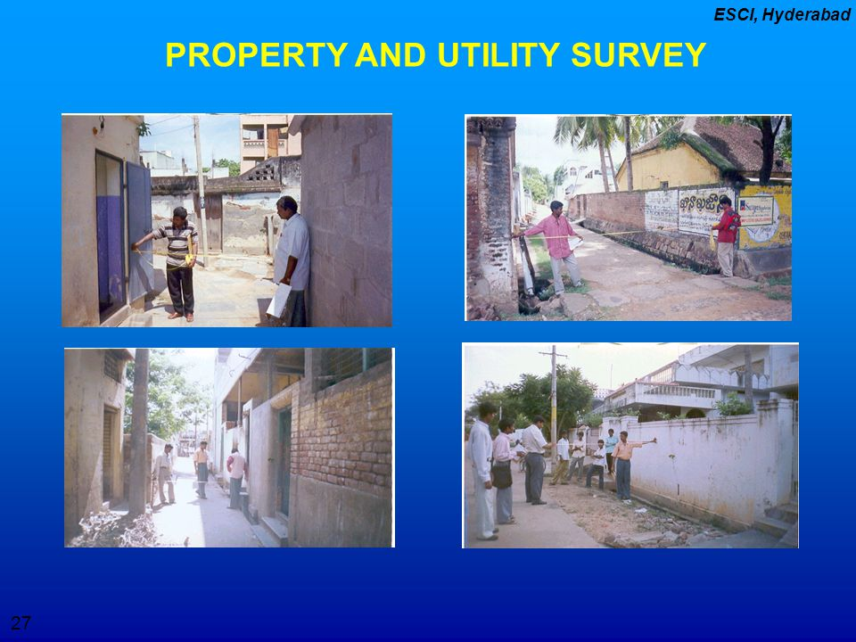 PROPERTY AND UTILITY SURVEY