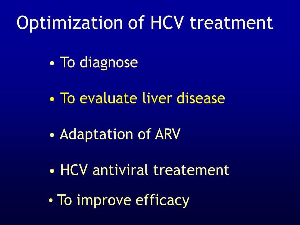 Optimization of HCV treatment
