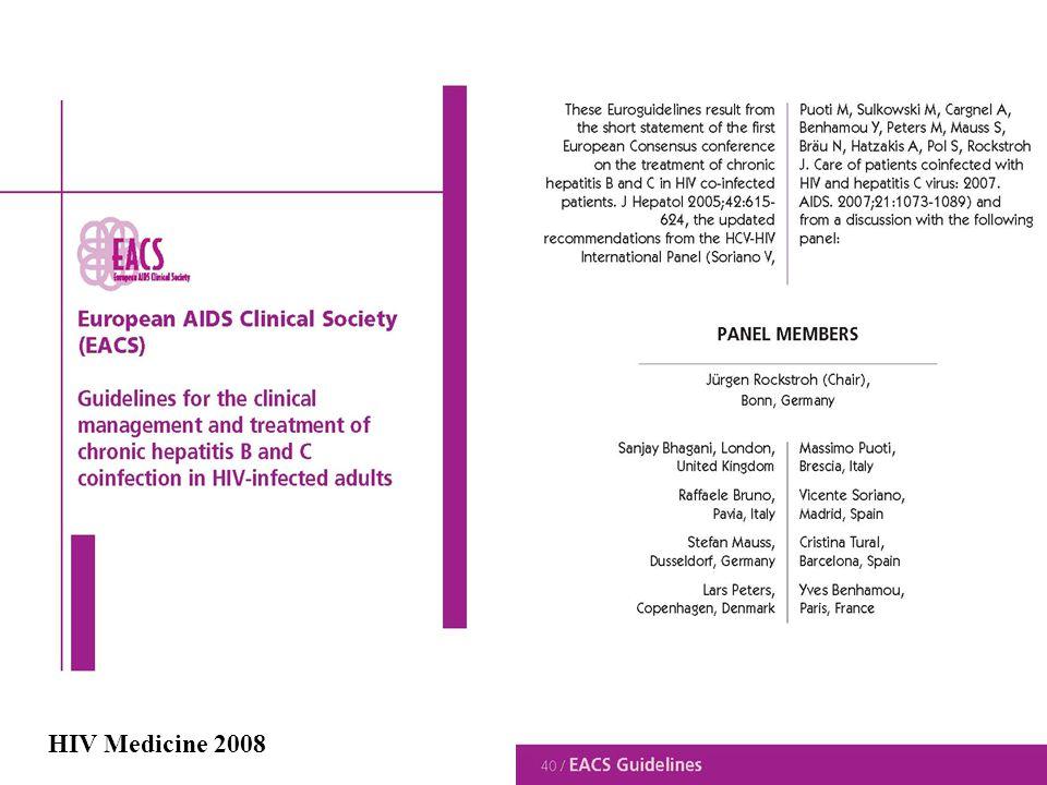 HIV Medicine 2008