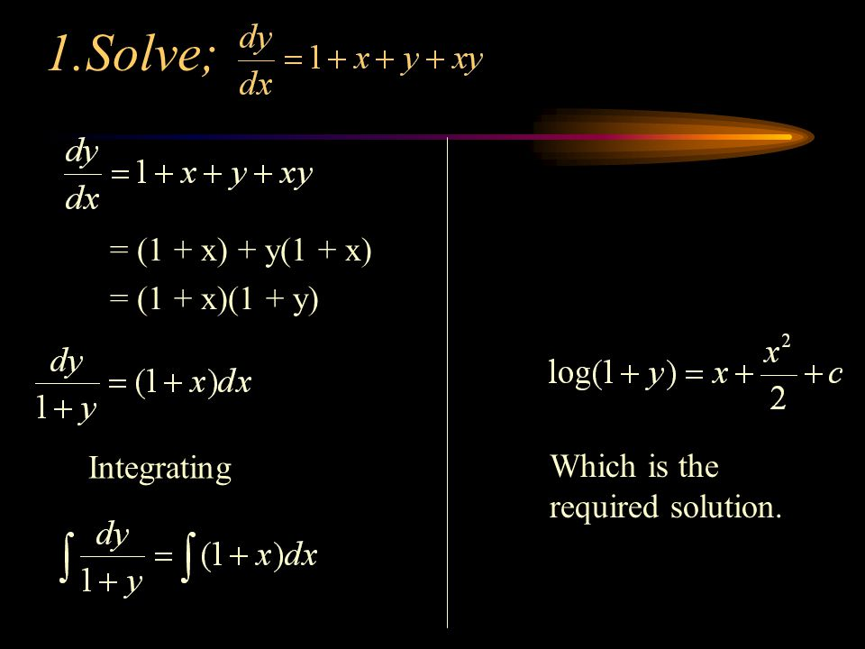how to solve differential equations power 2
