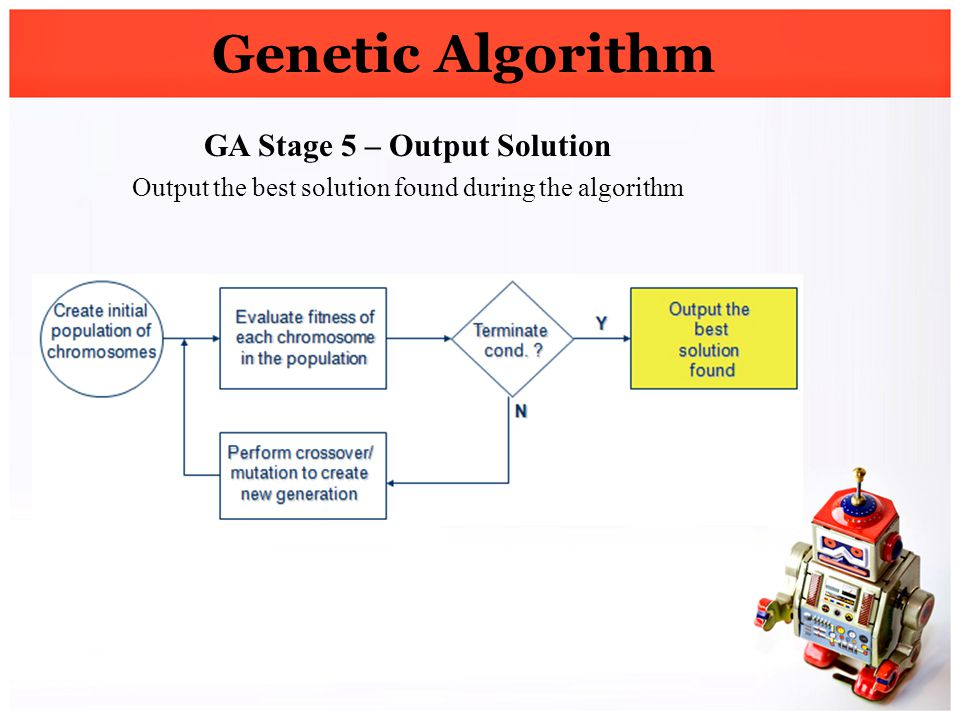 GA Stage 5 – Output Solution