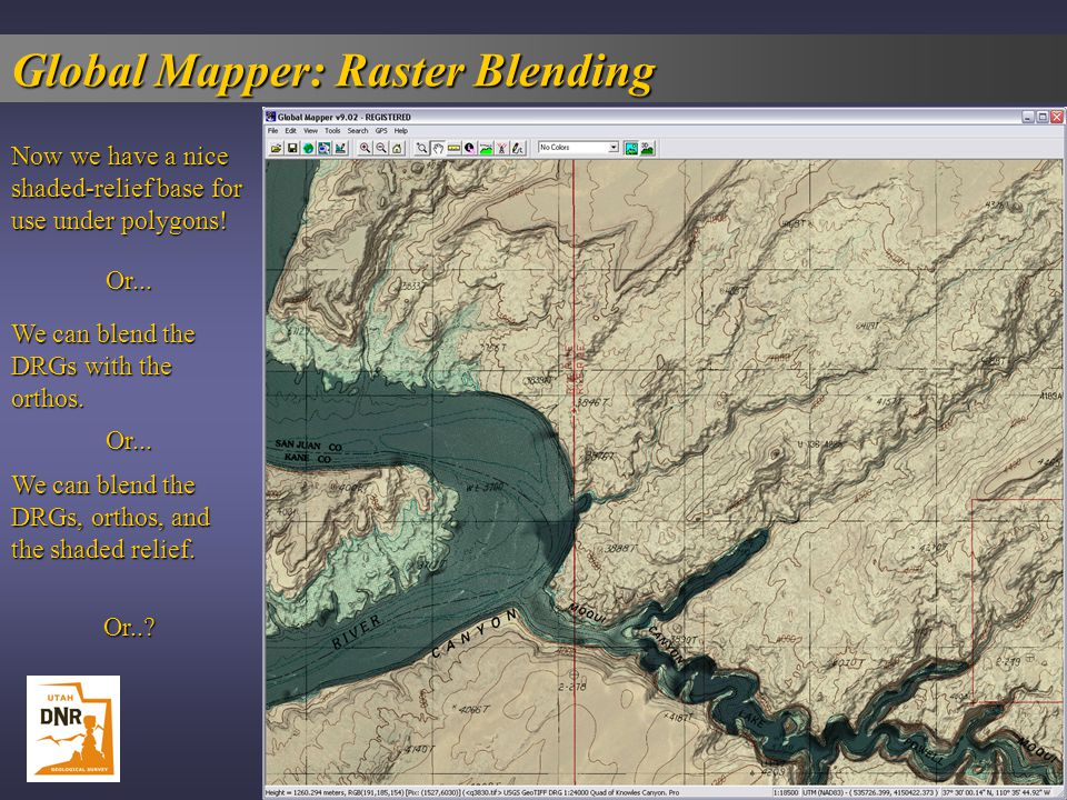 Global Mapper: Raster Blending