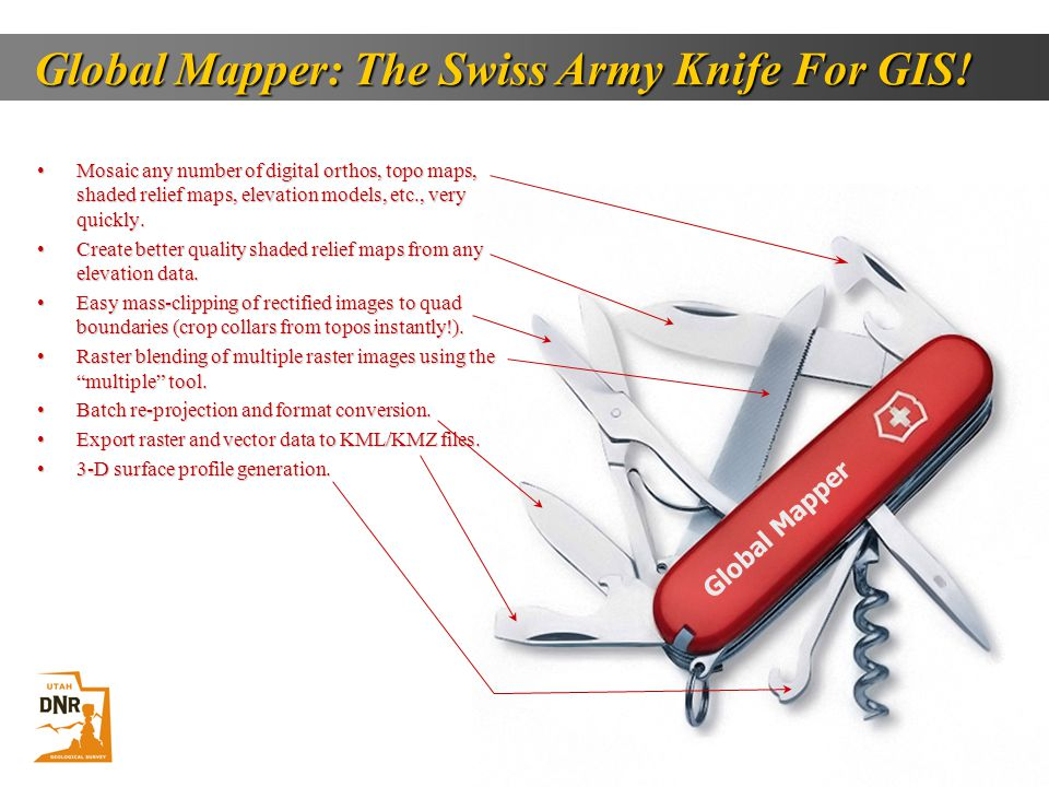 Global Mapper: The Swiss Army Knife For GIS!