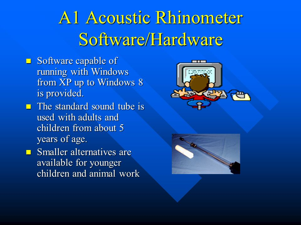A1 Acoustic Rhinometer Software/Hardware