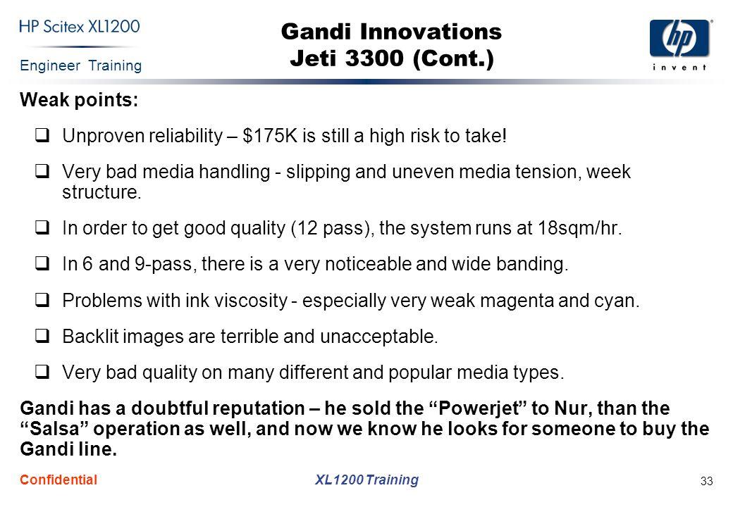 Gandi Innovations Jeti 3300 (Cont.)