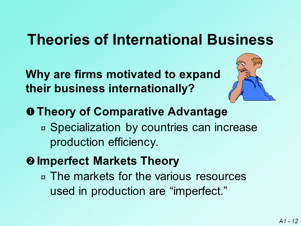 Theories of International Business