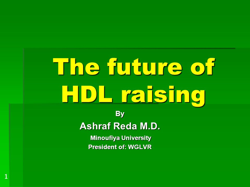 The future of HDL raising