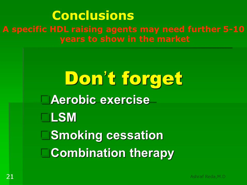 Aerobic exercise LSM Smoking cessation Combination therapy