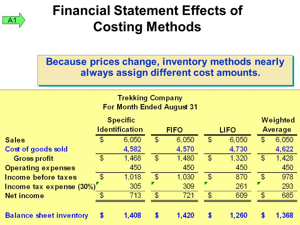 Impact of Financial Statement Essay