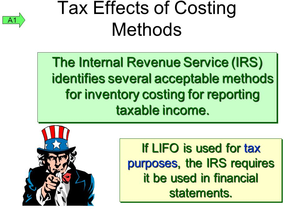 Tax Effects of Costing Methods