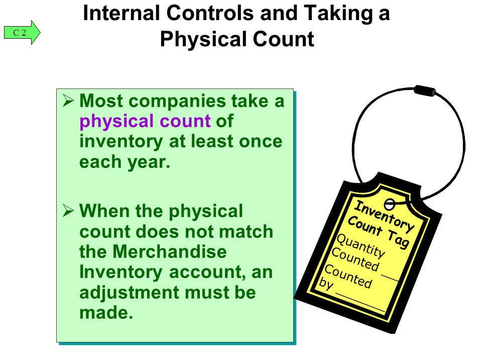 Internal Controls and Taking a Physical Count