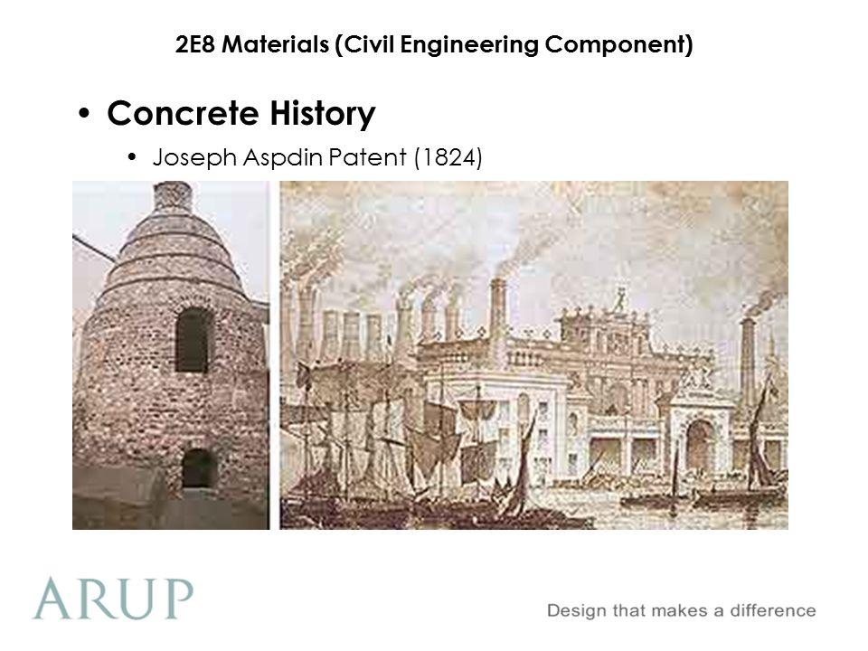 Concrete History Joseph Aspdin Patent (1824)
