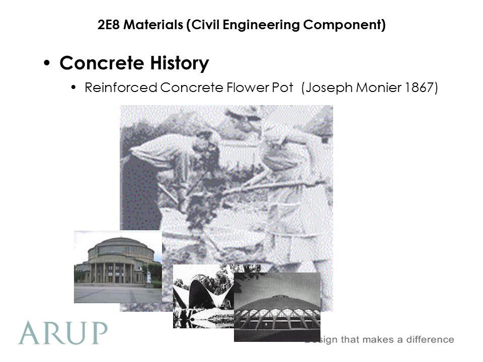 Concrete History Reinforced Concrete Flower Pot (Joseph Monier 1867)