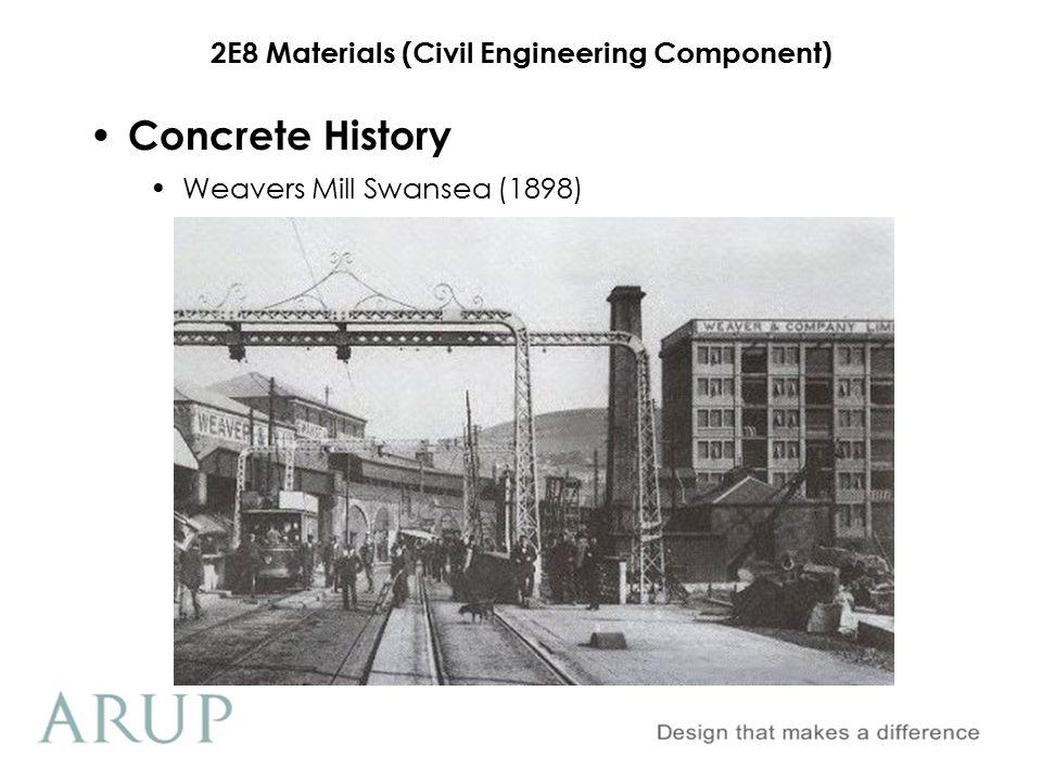 Concrete History Weavers Mill Swansea (1898)