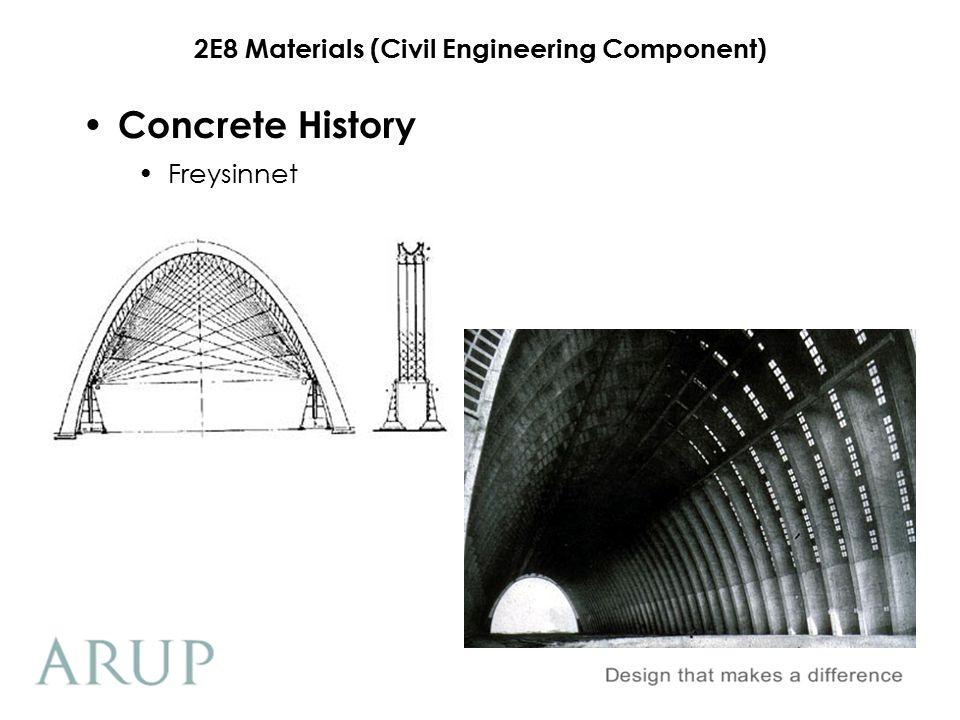 Concrete History Freysinnet