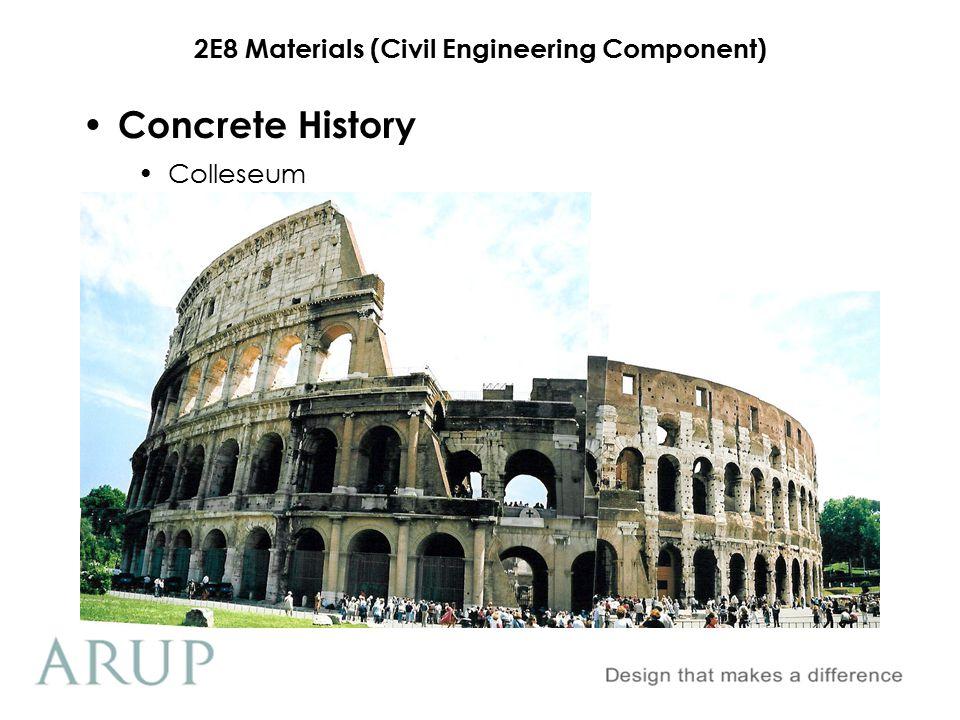 Concrete History Colleseum