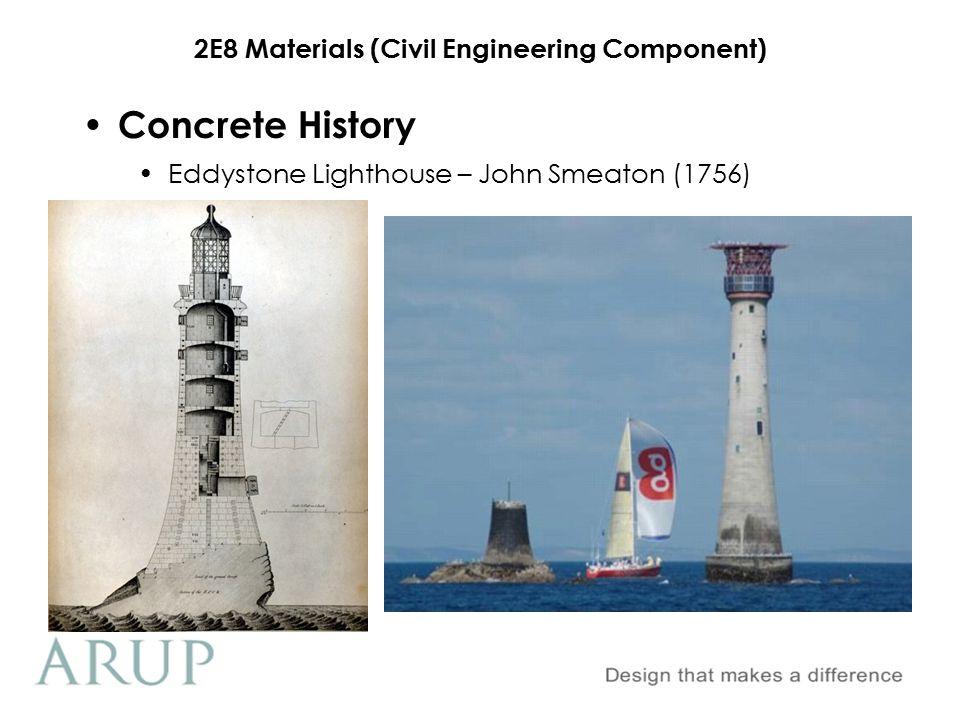 Concrete History Eddystone Lighthouse – John Smeaton (1756)