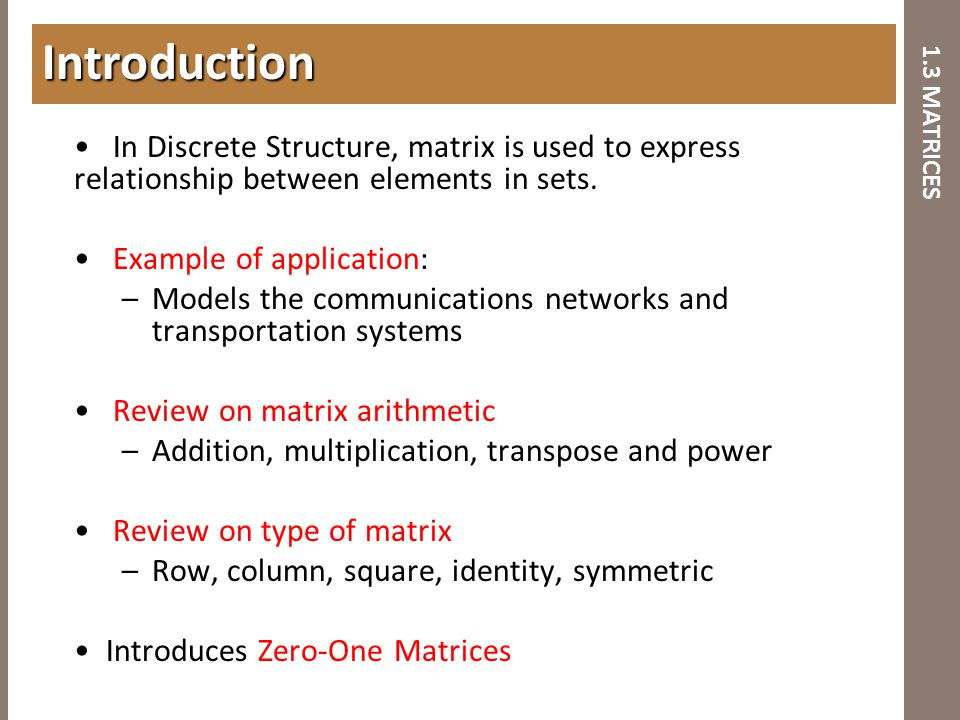 BCT2083 DISCRETE STRUCTURE & APPLICATIONS