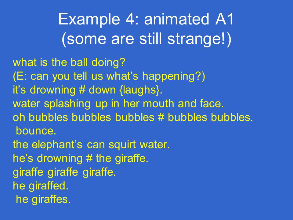 Example 4: animated A1 (some are still strange!)
