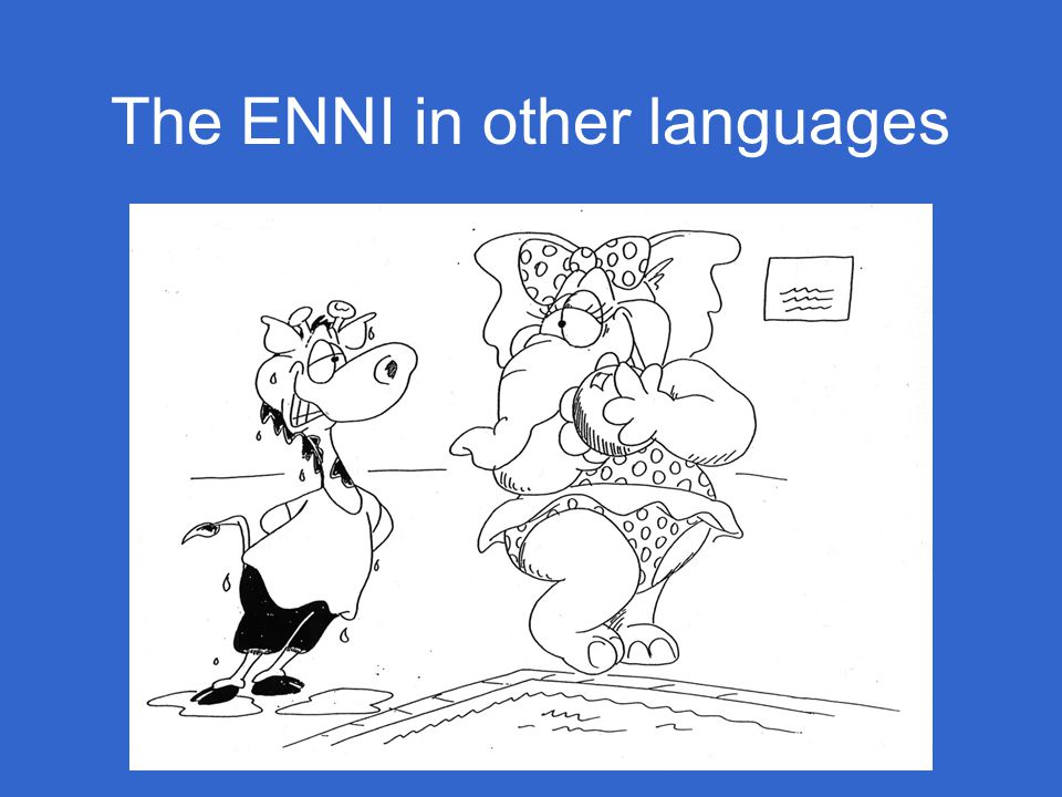 The ENNI in other languages