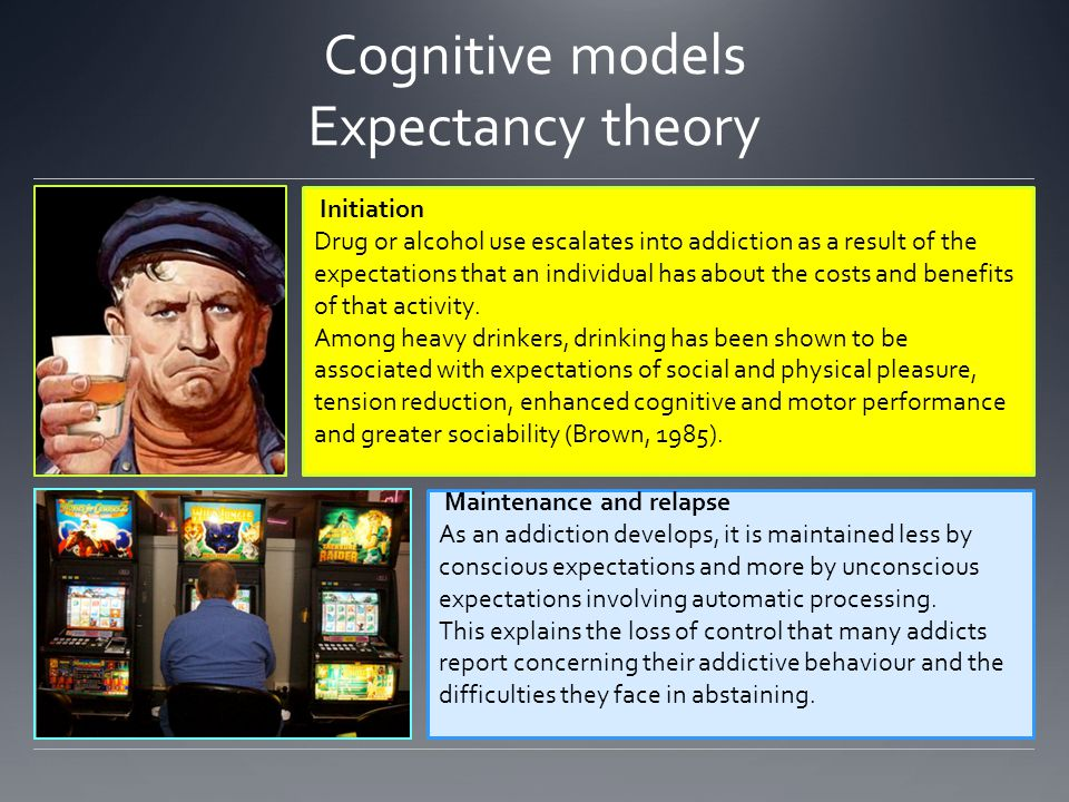 Cognitive models Expectancy theory