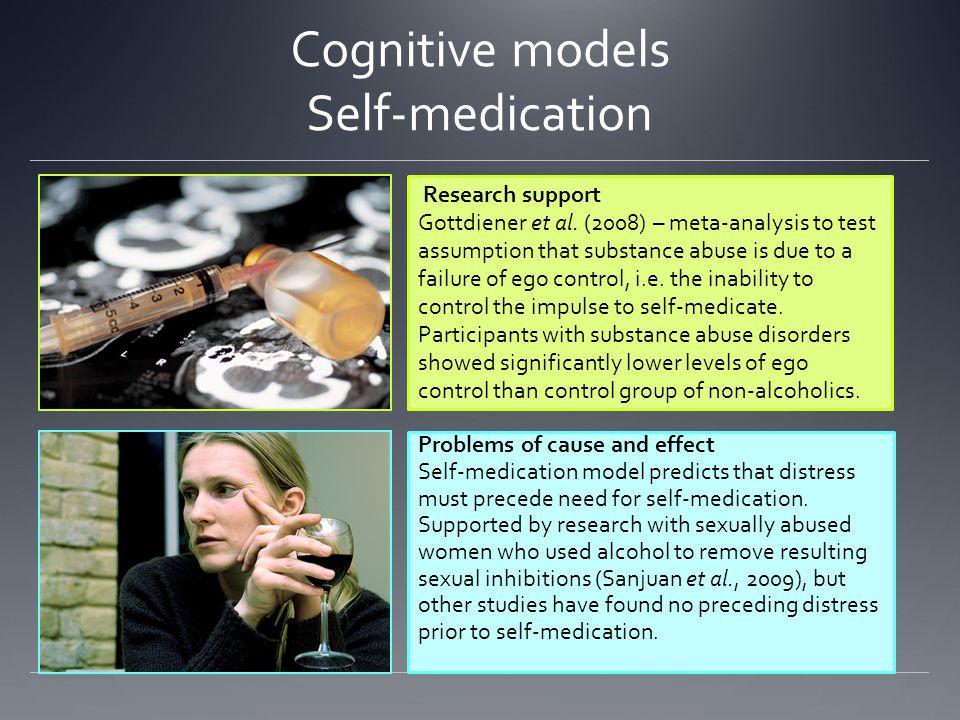 Cognitive models Self-medication