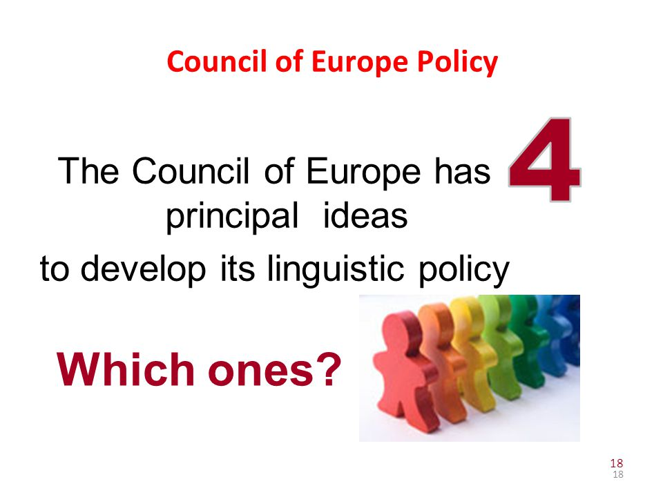 Council of Europe Policy