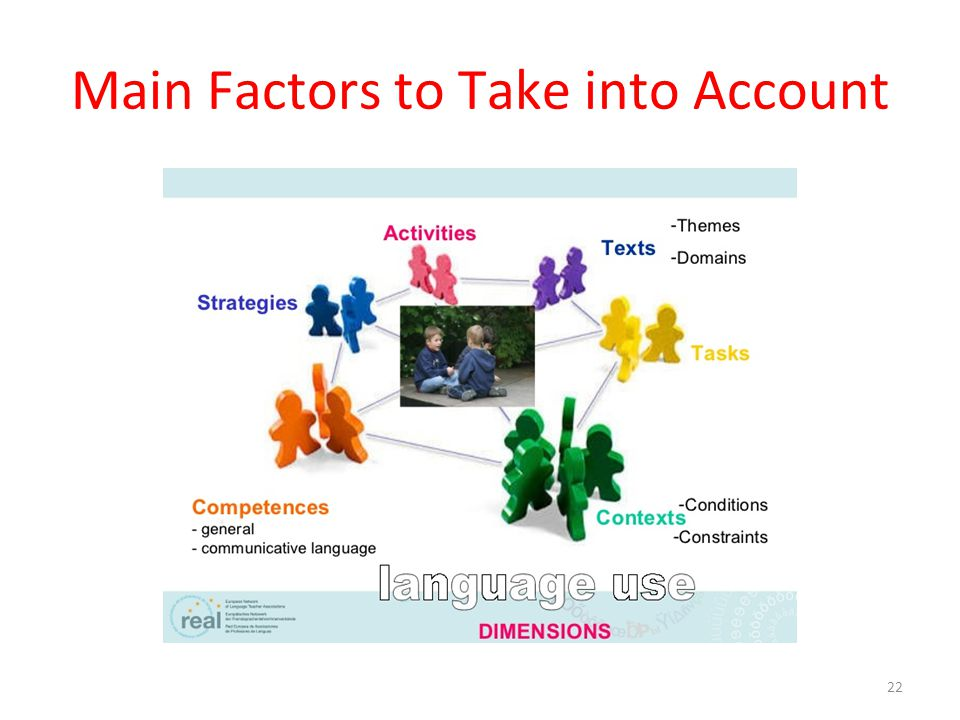 Main Factors to Take into Account
