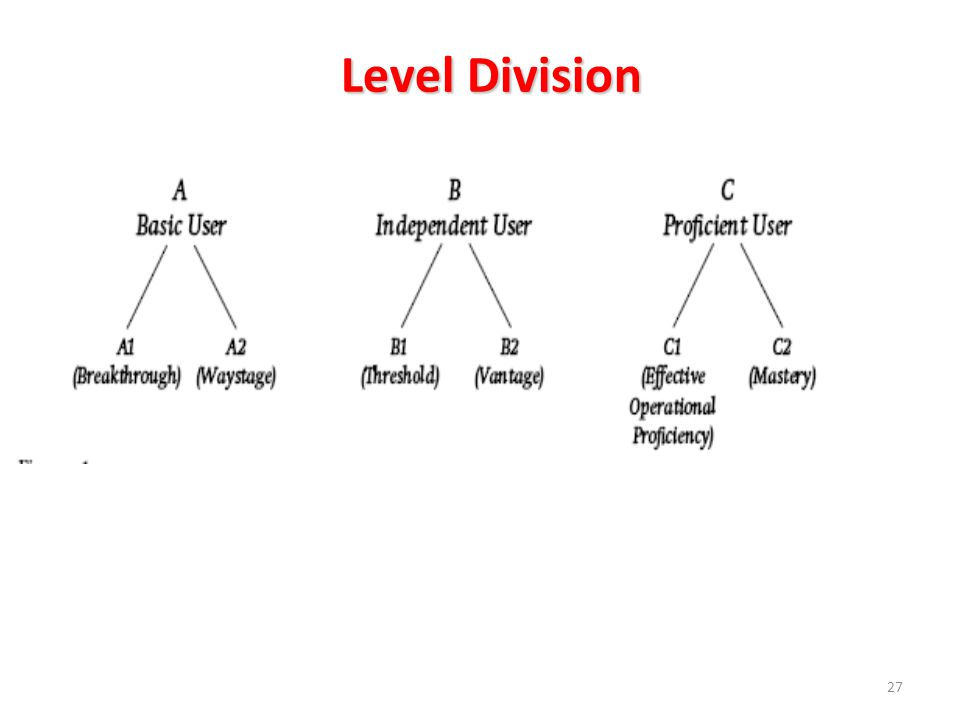 Level Division PROFICIENT