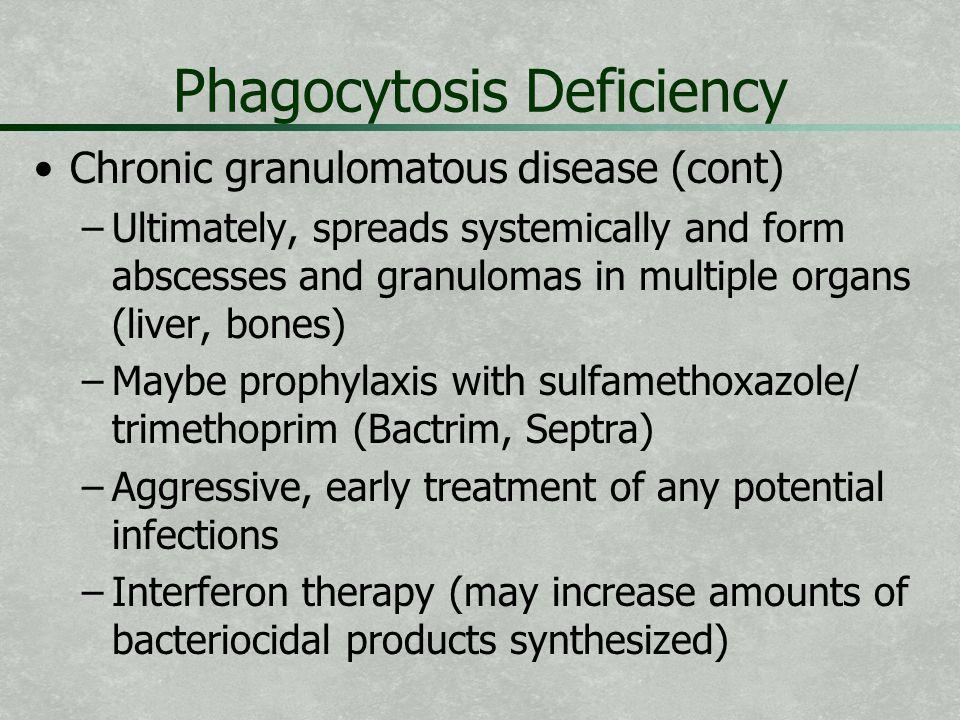 Phagocytosis Deficiency