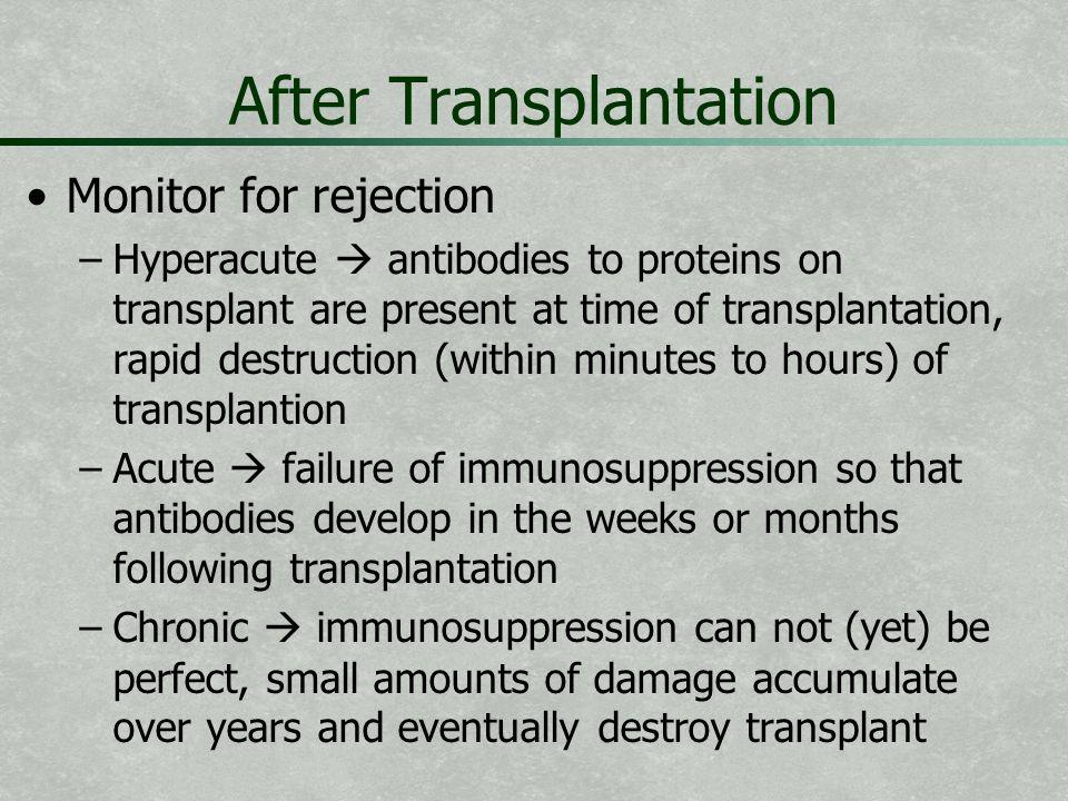 After Transplantation
