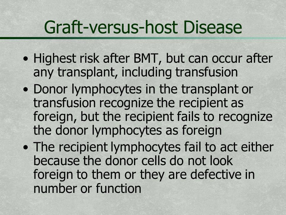 Graft-versus-host Disease