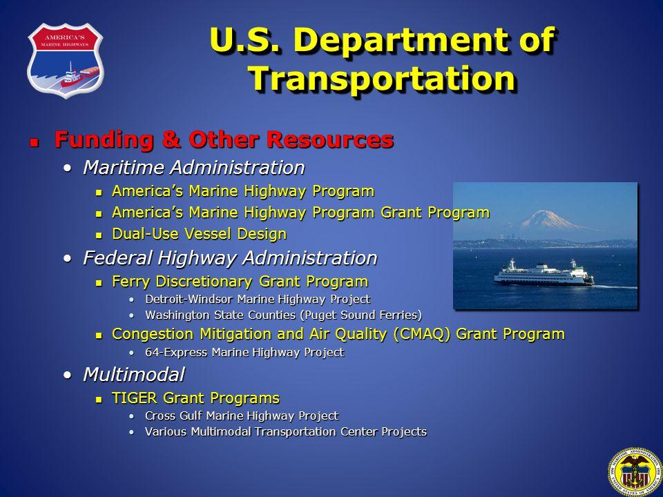 U.S. Department of Transportation