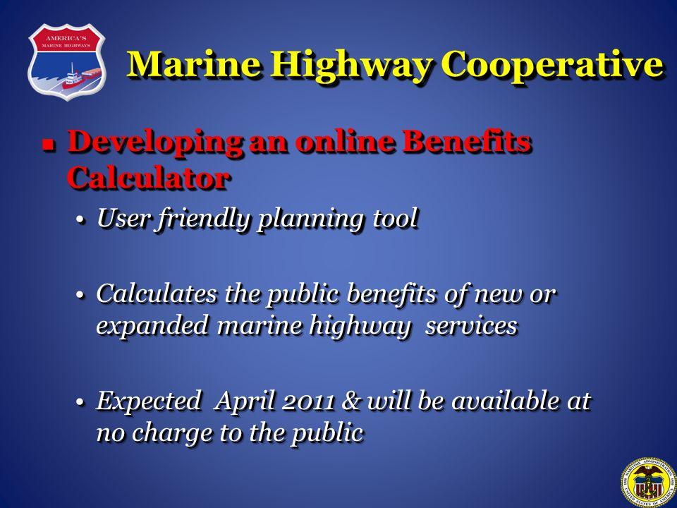 Marine Highway Cooperative