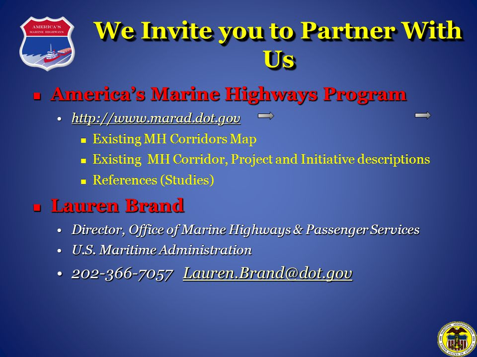 We Invite you to Partner With Us