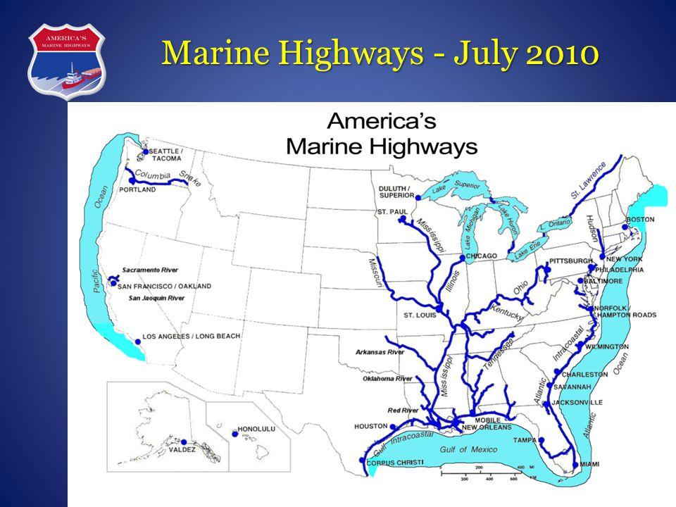 Marine Highways - July 2010