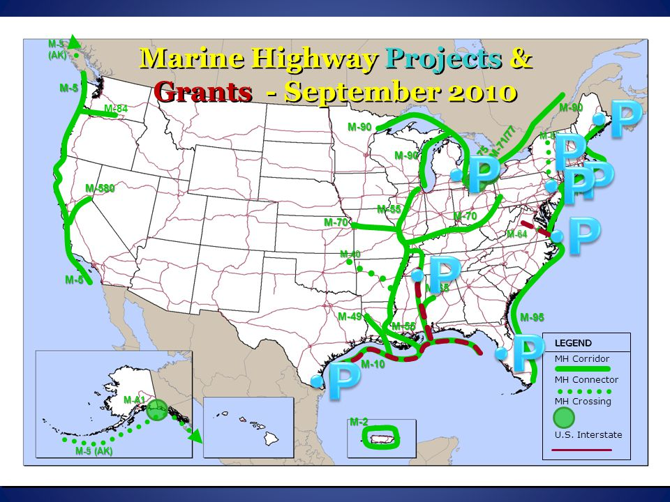 Marine Highway Projects & Grants - September 2010