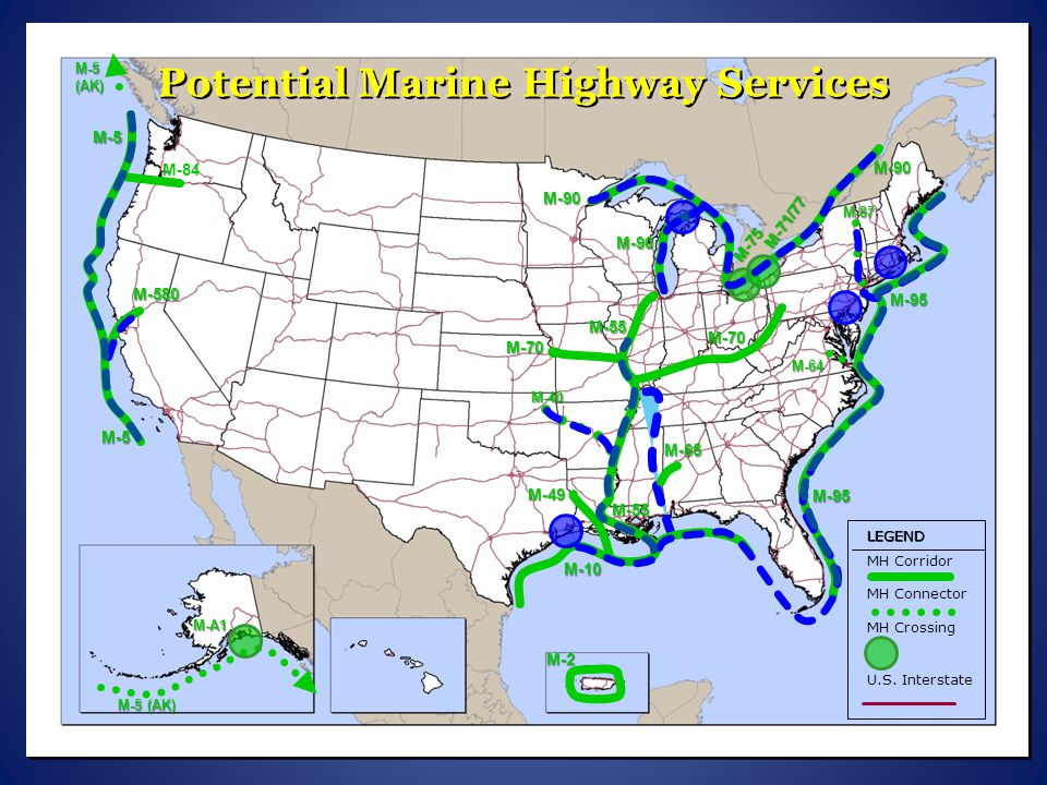 Potential Marine Highway Services
