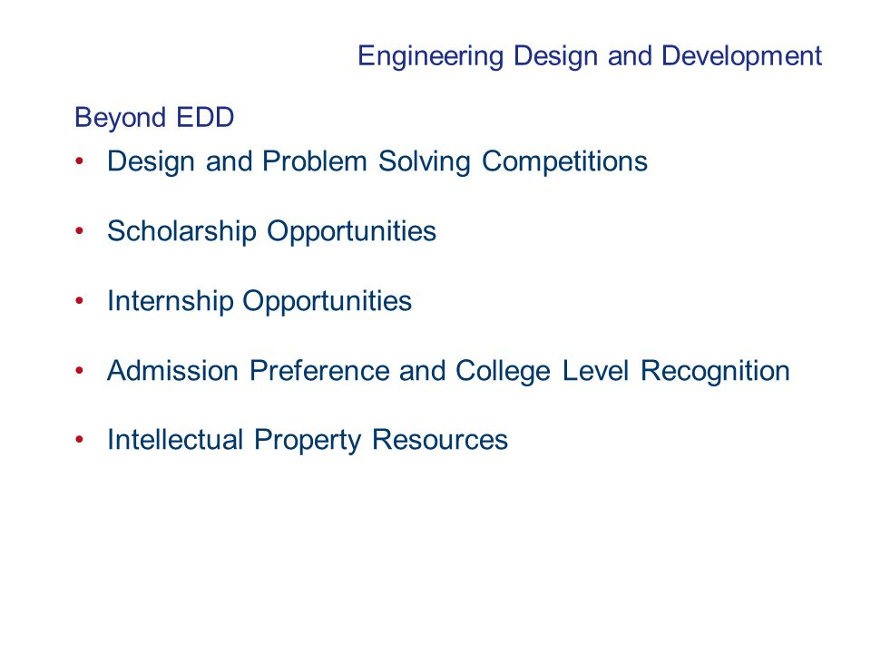 Design and Problem Solving Competitions Scholarship Opportunities